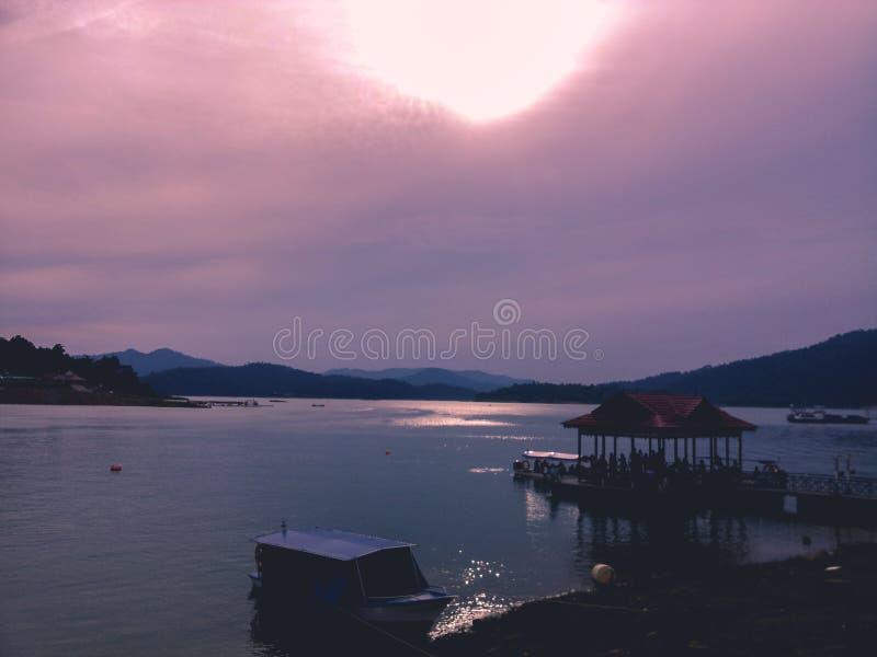 Kenyir jezioro fotografia stock