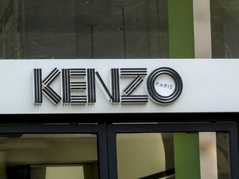 Kenzo boutique royaltyfria bilder