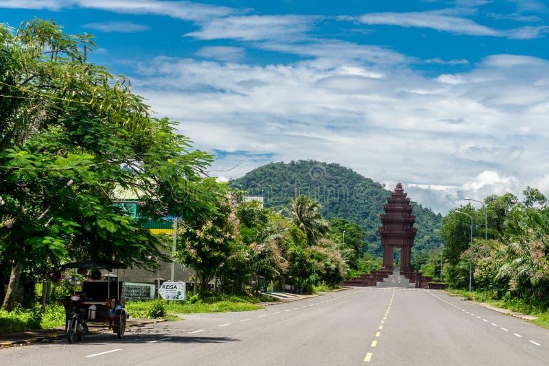 Kep, Kambodża zdjęcia royalty free