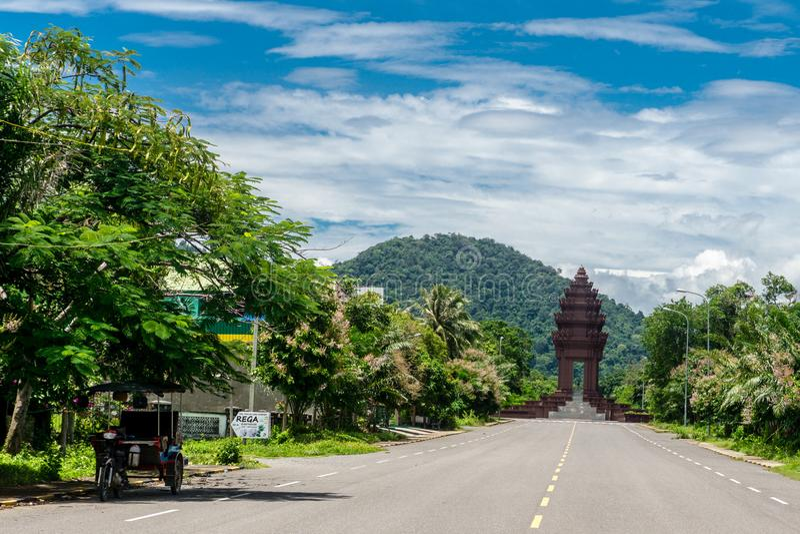 Kep, Kambodscha lizenzfreie stockfotos