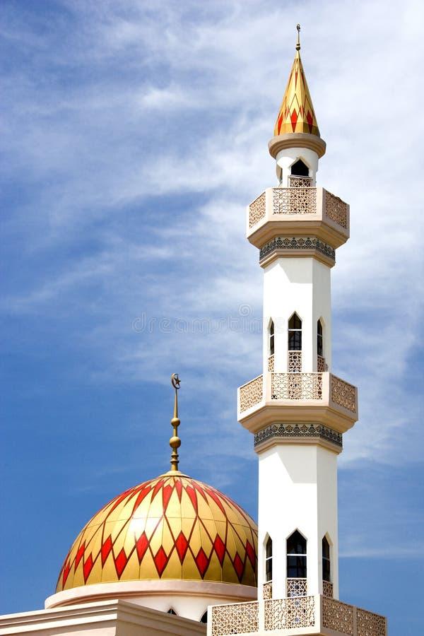 Kepong Mosque. The beautiful Kepong Mosque at Kuala Lumpur, Malaysia royalty free stock photography