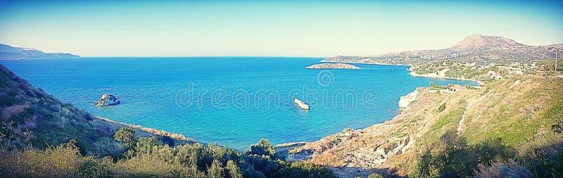 Ker zatoka Crete obraz royalty free