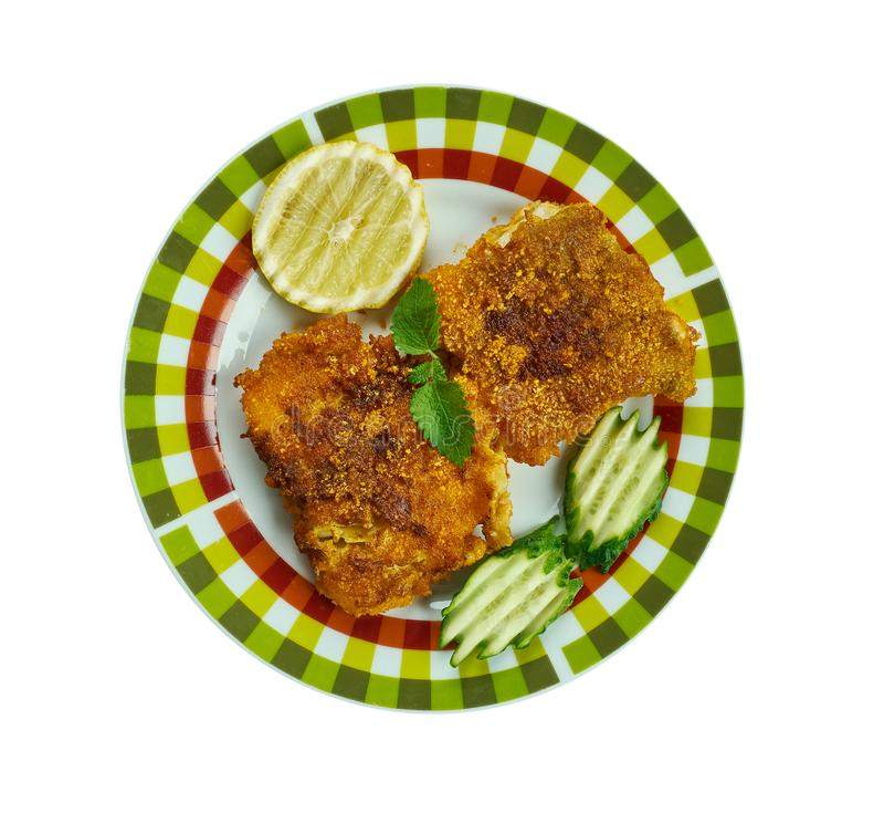 Kerala-Art-Fischrogen lizenzfreie stockfotos