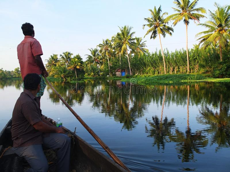 Download Kerala Backwaters, India editorial photo. Image of fischer - 27889346