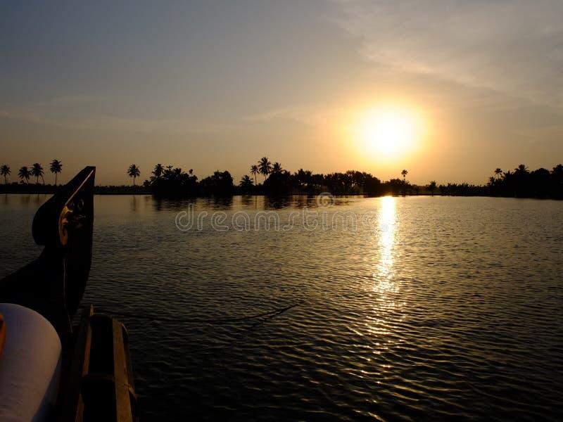 Download Kerala Backwaters, India editorial image. Image of boat - 27889745