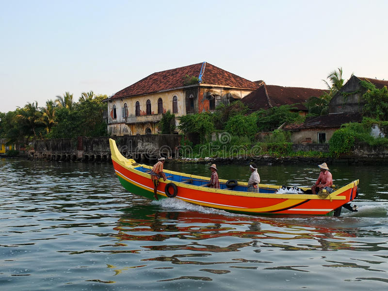 Download Kerala Backwaters, India editorial photography. Image of house - 32109992