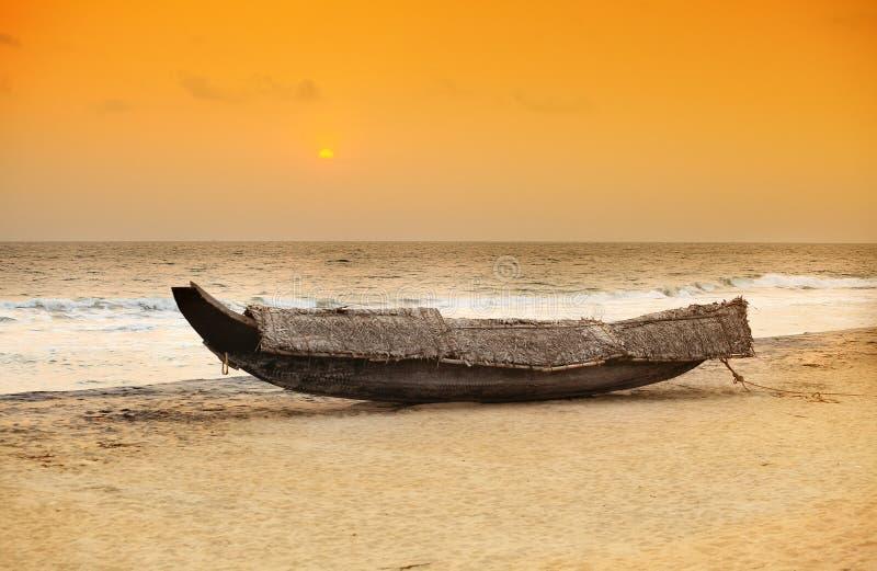 Download Kerala Boat Sunset Royalty Free Stock Image - Image: 21797456