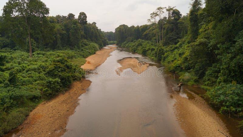 Kerala-Fluss stockfotografie