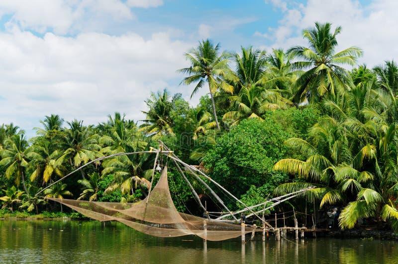 Kerala-Kanal lizenzfreie stockbilder