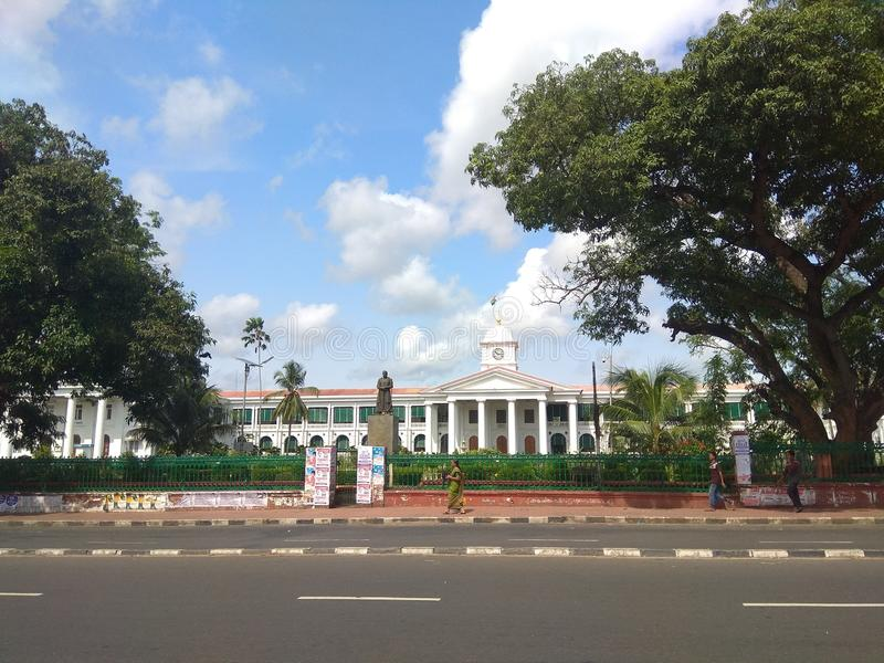 Kerala - Standbeeld van machtige Victoriaans stock afbeeldingen