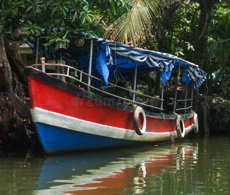 Kerala-Stauwasser stockbild