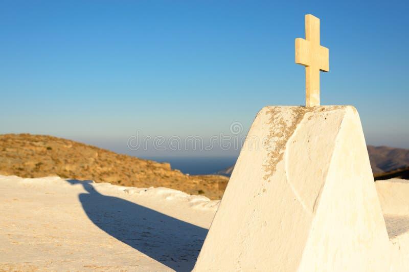 Keraleousa教会在Oria 库存图片