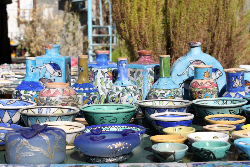 keramik royaltyfri fotografi