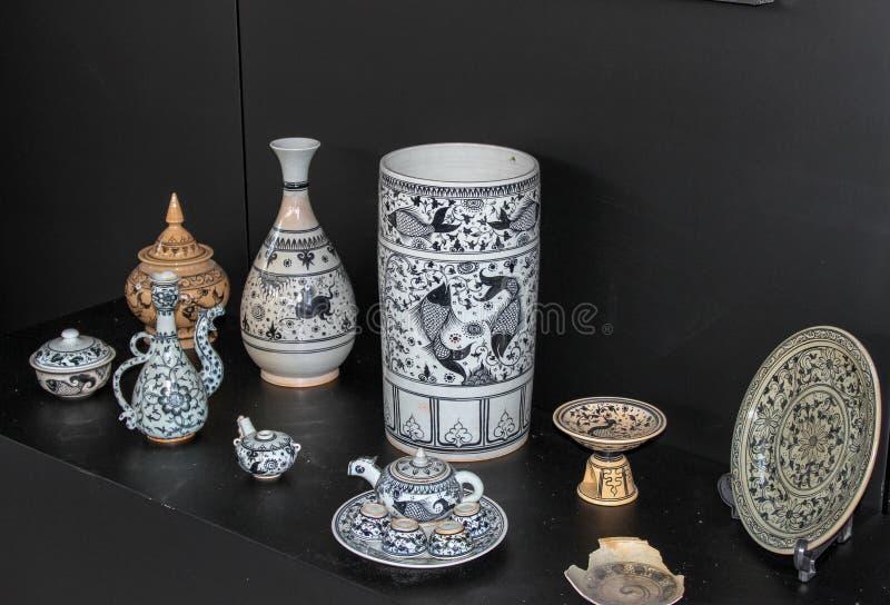 Keramik av Thailand royaltyfria foton
