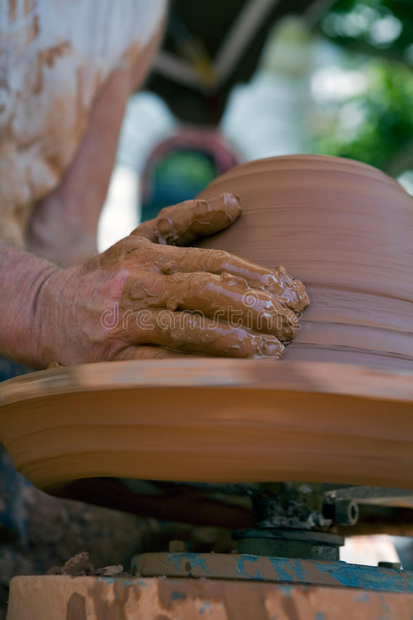 Keramiker royaltyfri bild