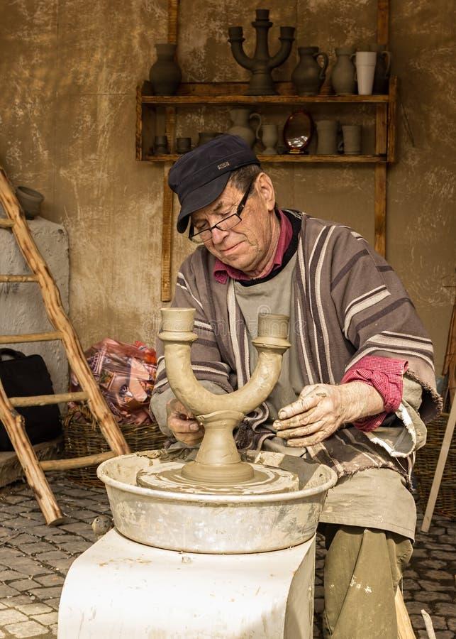 Keramikermannen arkivfoton