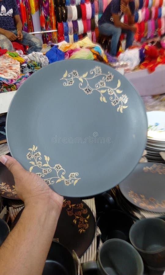 Keramikplatta royaltyfria bilder