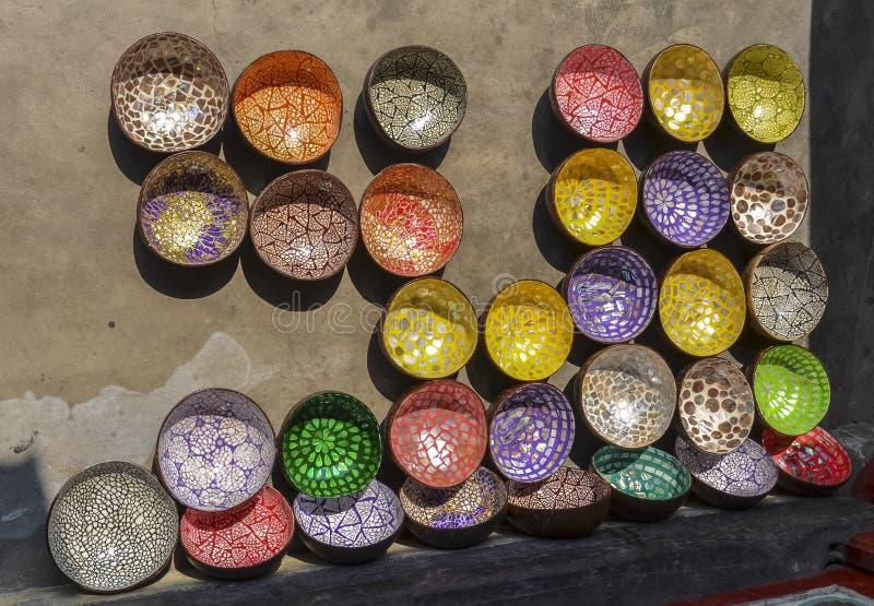 Keramikshop in Hoi An, Vietnam lizenzfreies stockfoto