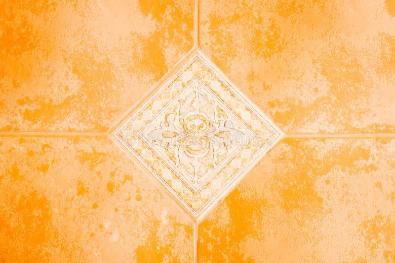 Keramische Fußbodenfliesen stockfotografie