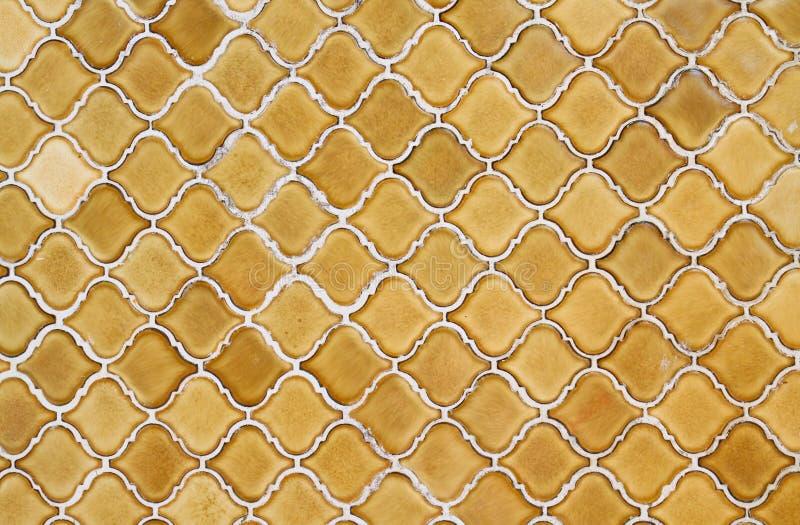 Keramische Mosaikbeschaffenheit lizenzfreie stockfotografie