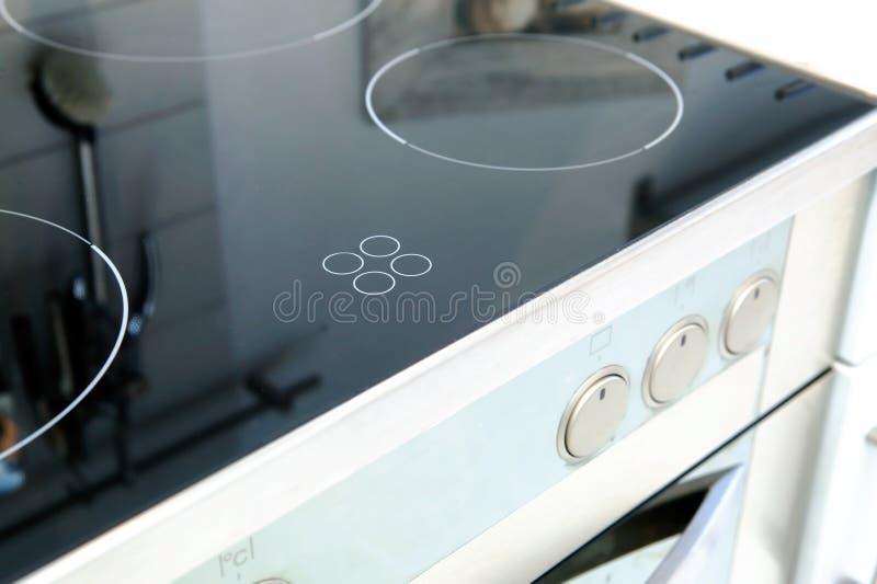 Keramische Ofen-Oberseite stockbilder