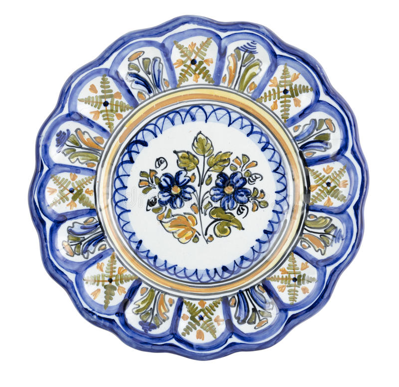 Download Keramische Platte lappig stockbild. Bild von kultur, spanien - 26370587