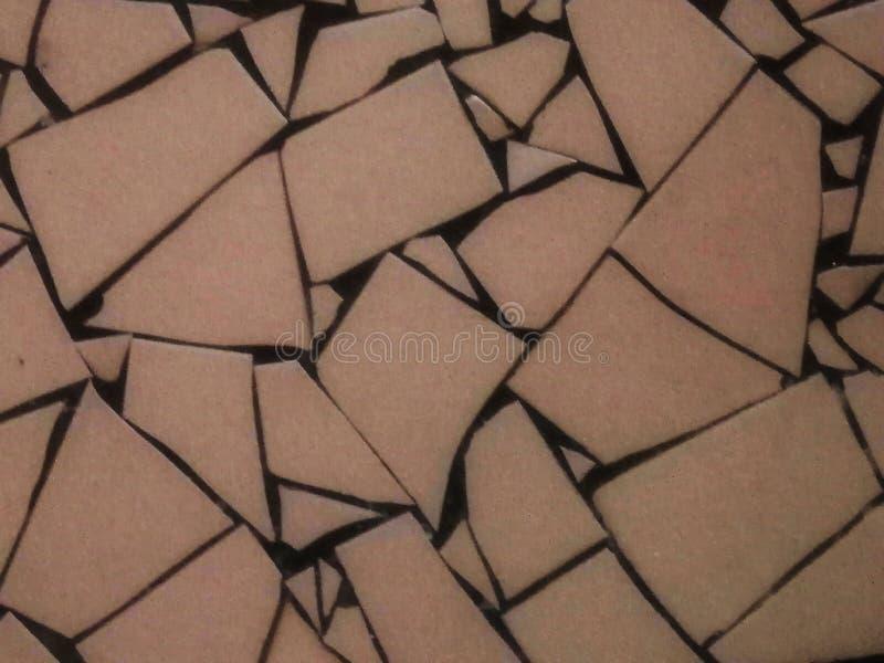 Keramischer Fliesenbodenmusterstaplungshintergrund, lizenzfreies stockbild