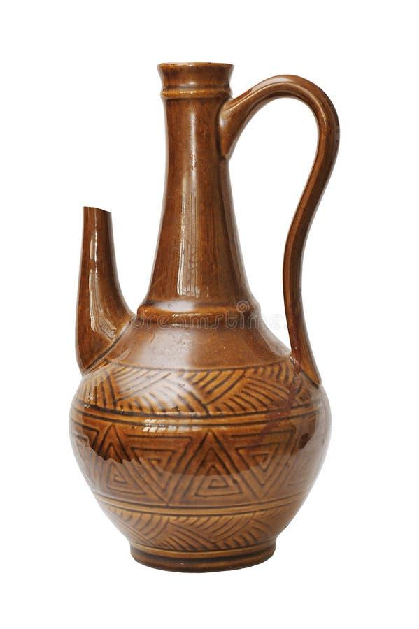 Keramischer Vase stockfoto