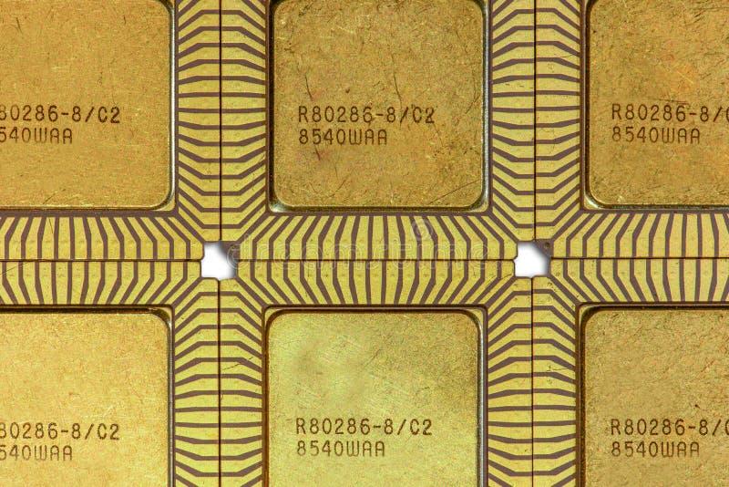 Keramisk CPU för tappning royaltyfri bild