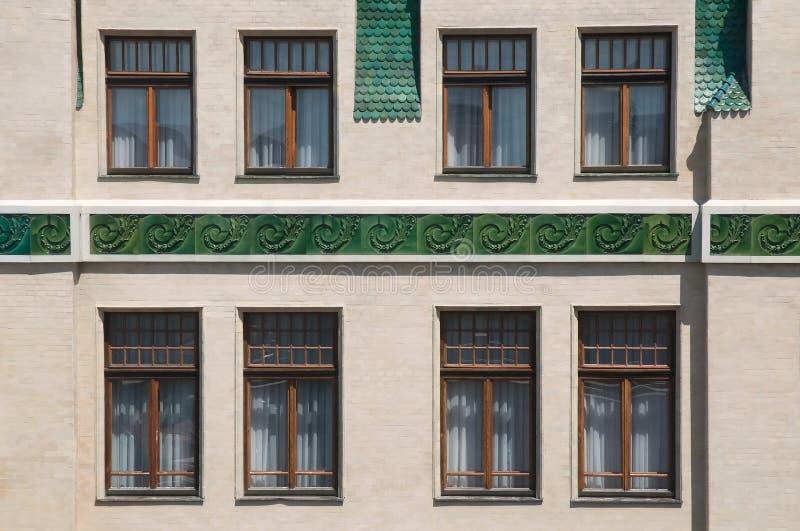 Keramisk fasad royaltyfri foto