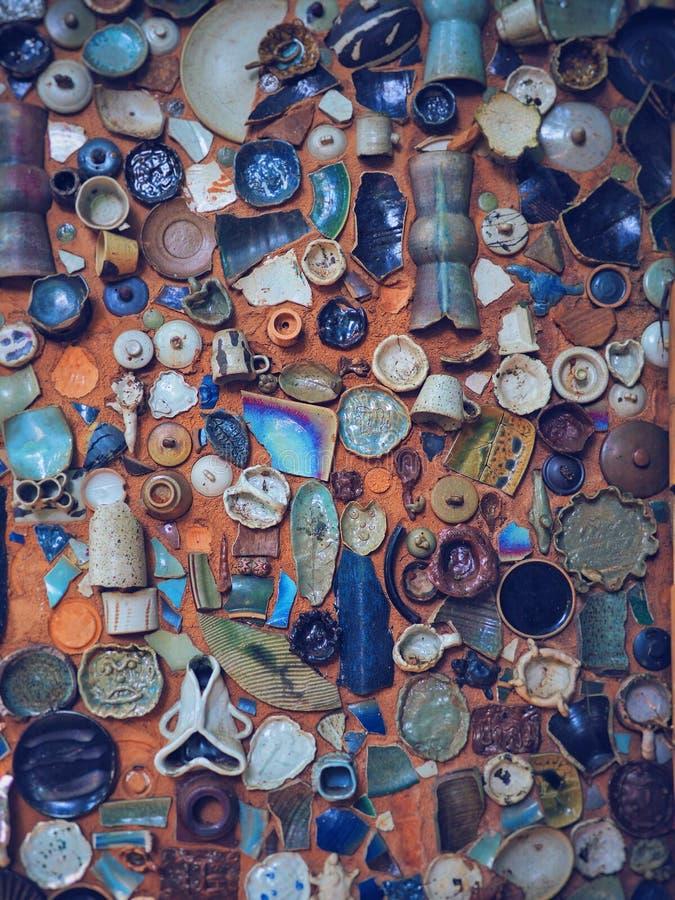 Keramisk krukmakeri parkerar in royaltyfria bilder