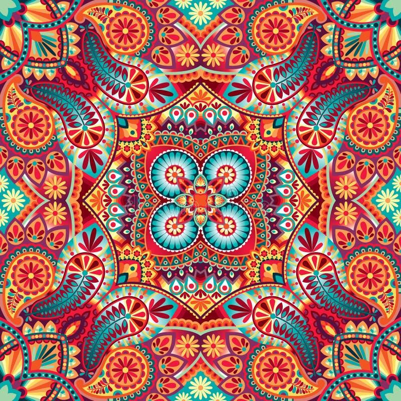 Kerchief vector pattern royalty free illustration