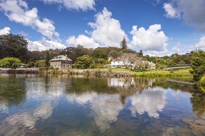 Keri Keri Bay des îles Nouvelle-Zélande photos stock