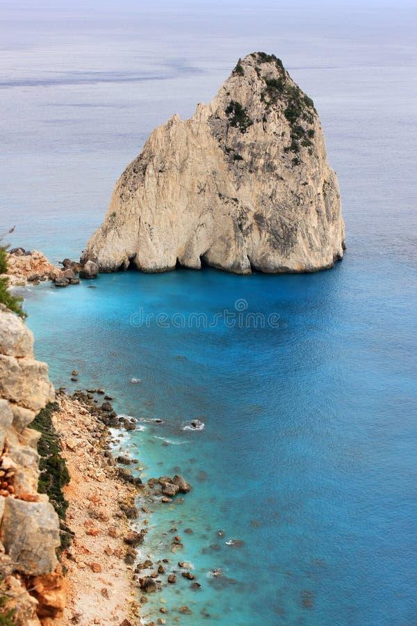 Keri Cape, het eiland van Zakynthos, Griekenland royalty-vrije stock afbeeldingen