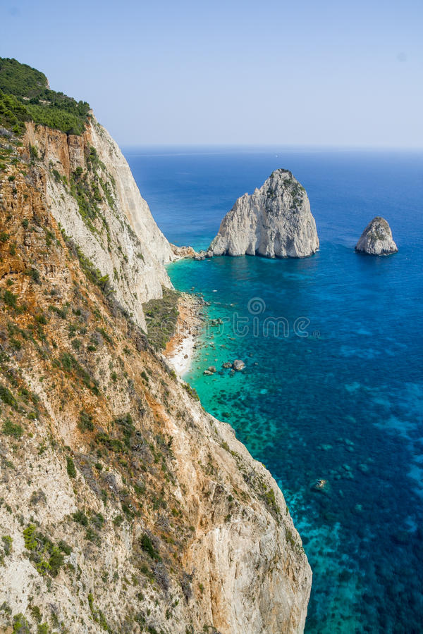 Keri Mizithres in Zakynthos. royalty free stock photos