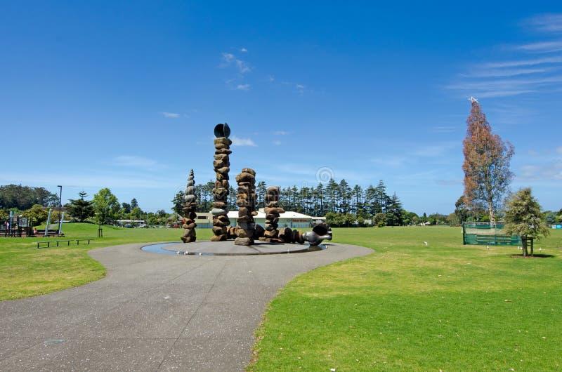 Kerikeri - Northland New Zealand. KERIKERI, NZ - DEC 22:Kerikeri domain on Dec 22 2013. It's the largest town in Northland NZ and it has some of the most stock image