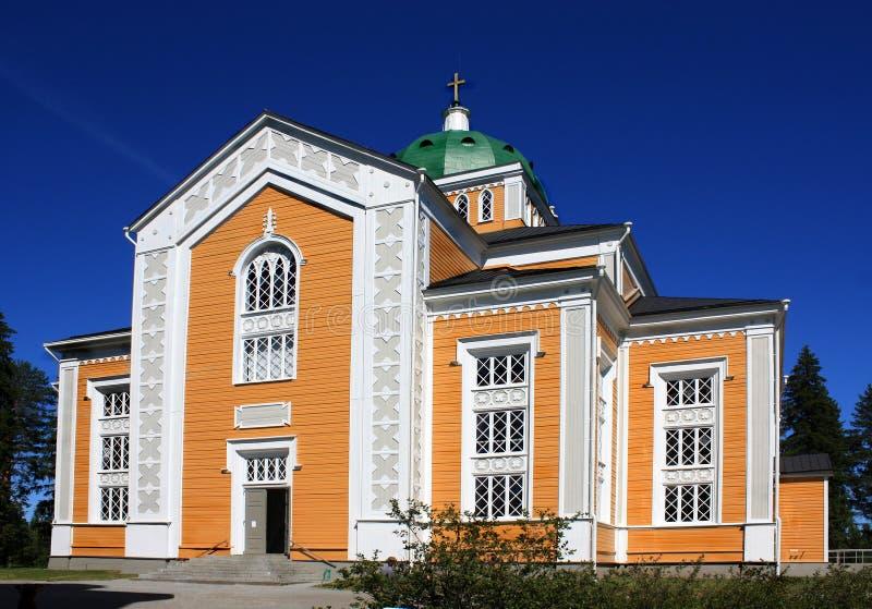 kerimaki церков стоковая фотография rf