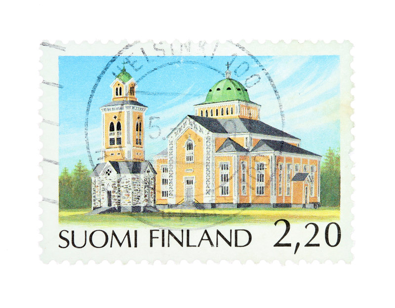Download Kerimaki stock image. Image of philatelic, suomi, international - 7602015
