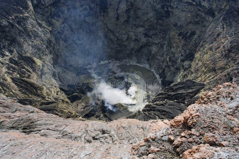 kerinci火山 图库摄影