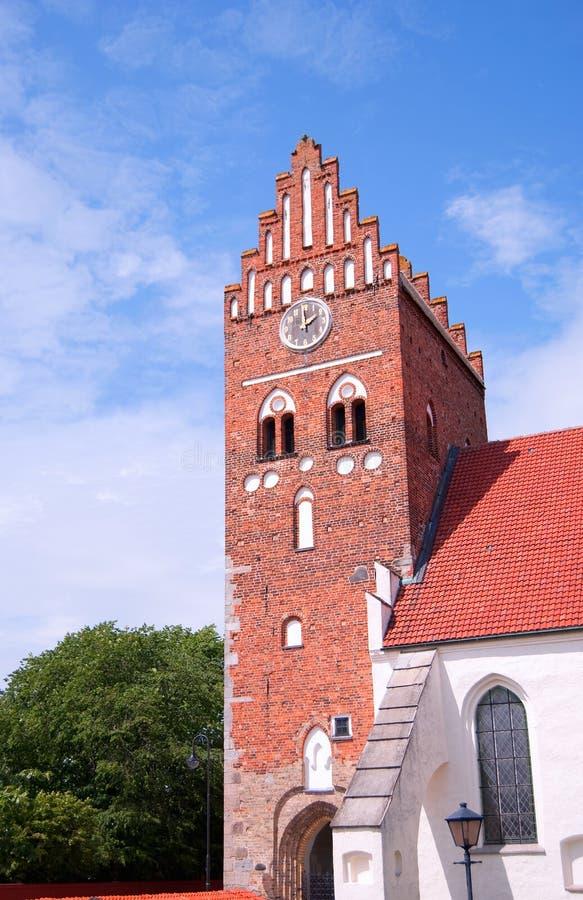 Kerk 01 van Ahus stock afbeeldingen