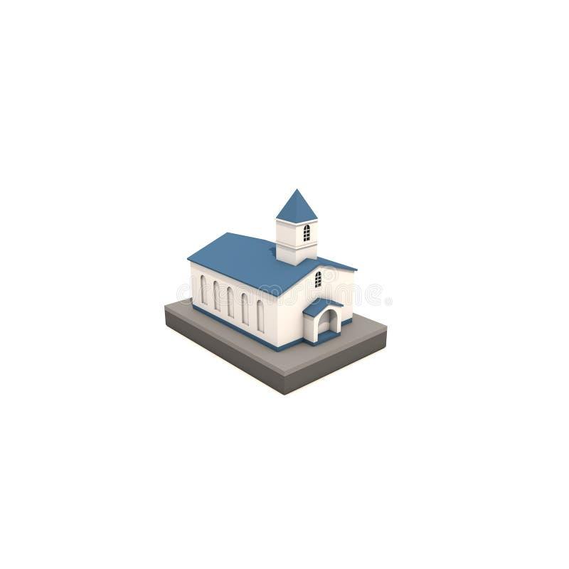 Download Kerk stock illustratie. Illustratie bestaande uit eenvoudig - 107703378