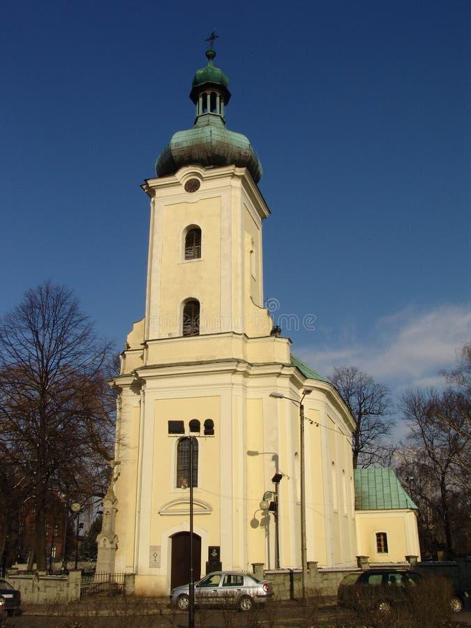 Kerk. royalty-vrije stock afbeelding