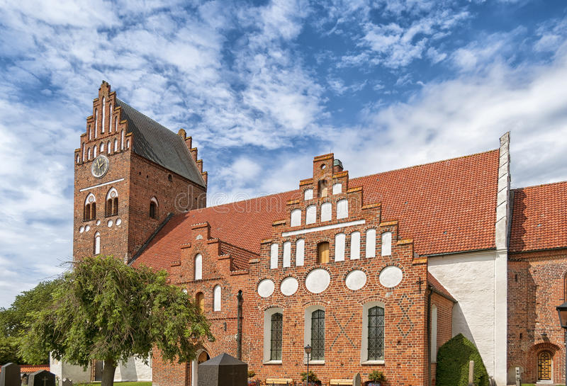 Kerk in Ahus royalty-vrije stock fotografie
