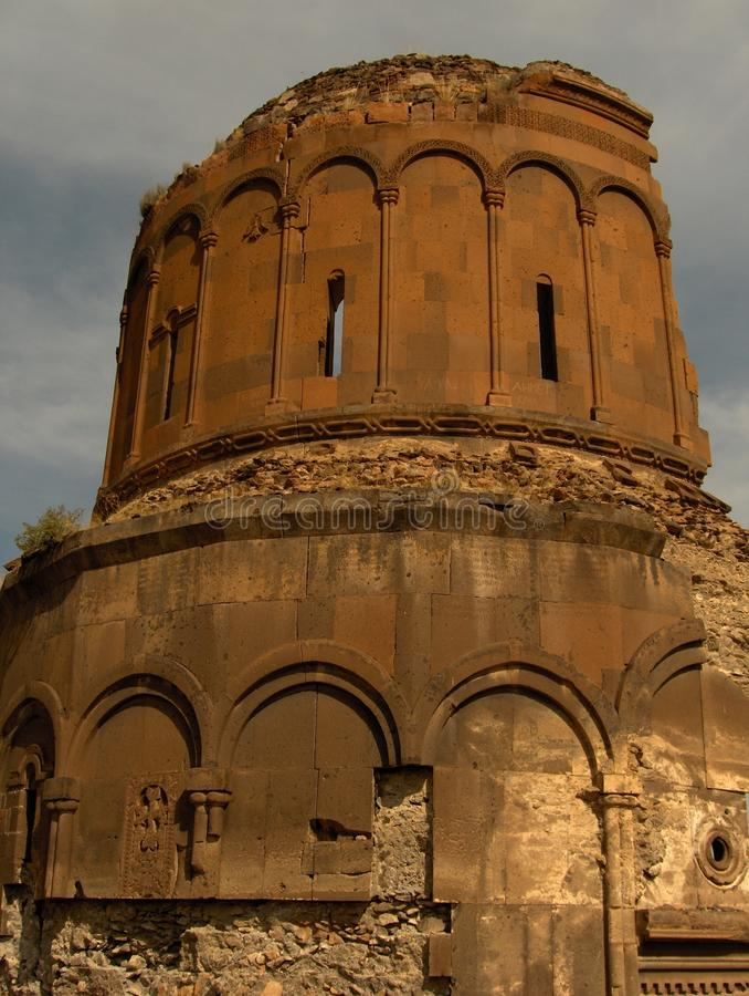 Kerk in Ani royalty-vrije stock foto