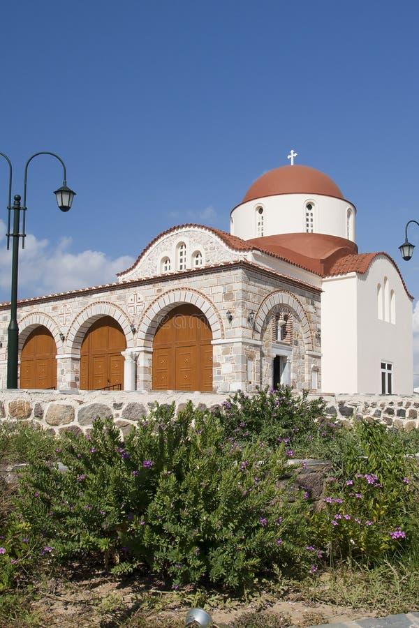 Kerk in Antimahia, Ko royalty-vrije stock foto