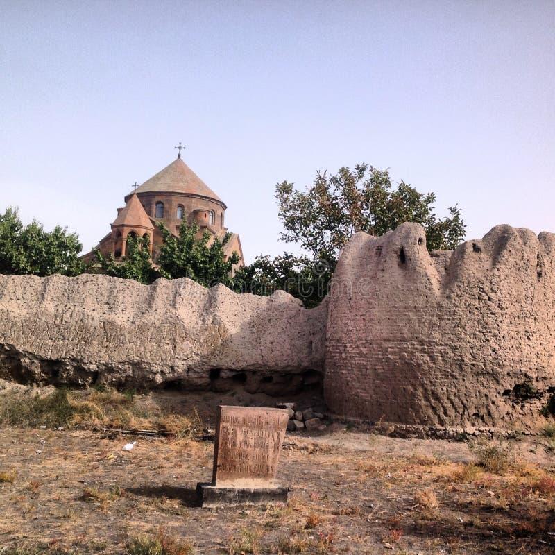 Kerk in Armenië royalty-vrije stock afbeeldingen