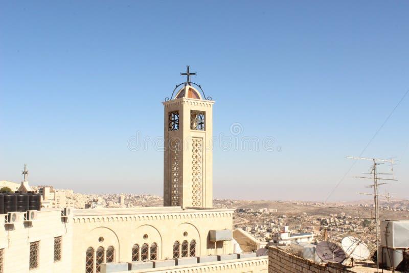 Kerk in Bethlehem royalty-vrije stock afbeeldingen
