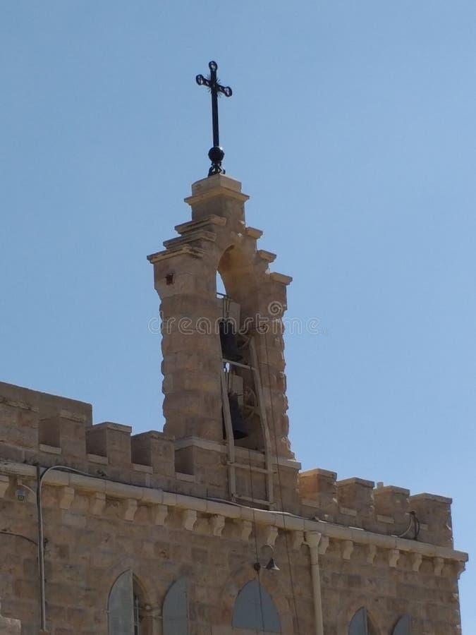 Kerk in Bethlehem royalty-vrije stock afbeelding