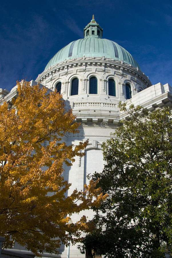 Kerk bij de ZeeAcademie van de V.S. royalty-vrije stock afbeelding