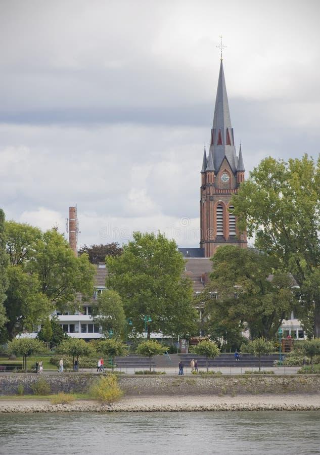 Kerk in Bonn royalty-vrije stock afbeeldingen